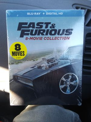 New Blu Ray Fast And Furious 8 Movie Set for Sale in Spokane, WA