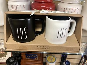 Rae Dunn His and His mugs (progressive set) UFT for Sale in Beverly Hills, CA
