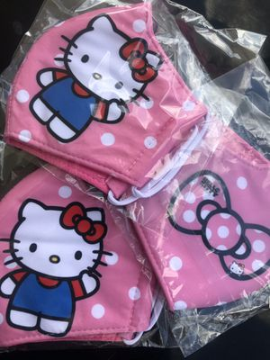 Hello Kitty Pink Facemask 😼 for Sale in Seffner, FL