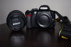 Nikon D1300 DSLR Camera with 18-55mm f/ 3.5-5.6 Auto Focus-S Nikkor Zoom Lens for Sale in Los Angeles, CA