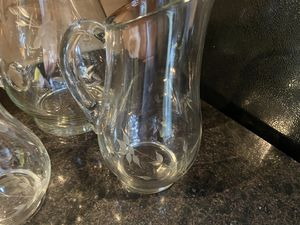 Princess house pitchers for Sale in New Oxford, PA