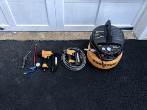 Bostitch 6 Gal Oil-free compressor with accessories for Sale in McLean, VA