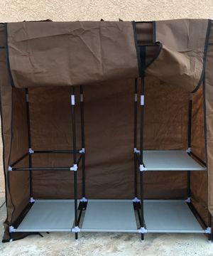 Rack Organizer w/Cover for Sale in San Bernardino, CA