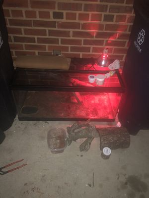 Reptile tank!!40g for Sale in Fort Washington, MD