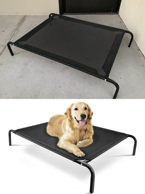 New in box L Large raised dog pet cot bed 45x30x8 inches tall for pets up to 90 lbs capacity elevated cuna de perro for Sale in Los Angeles, CA