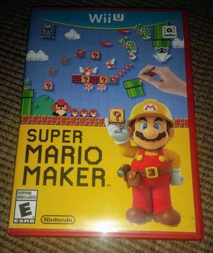 NINTENDO WII U SUPER MARIO MAKER 100%💥💥 for Sale in Escondido, CA