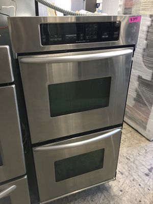 """Kitchen aid 27"""" double oven stainless steel for Sale in Orange, CA"""