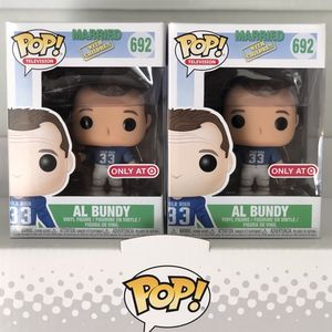 Funko Pop - AL BUNDY (Polk High Uniform) - Target Excl - Married With Children for Sale in Rowland Heights, CA