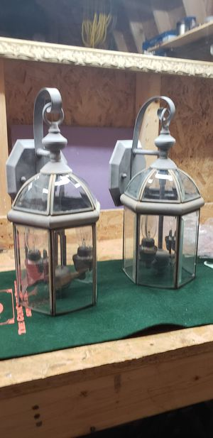 Outside sconce light fixtures 120 volt for Sale in McLeansville, NC