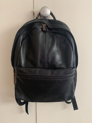 Boconi black leather backpack for Sale in Cleveland, OH