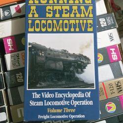Train videos vhs for Sale in Yakima,  WA