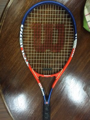 WILSON TITANIUM TENNIS RACKET 110 your FEDERER for Sale in Los Angeles, CA