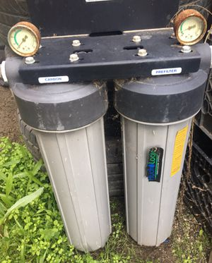 Hydro Logic Water Purification System Carbon Filter for Sale in Fresno, CA