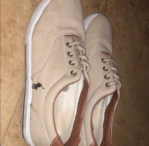 Polo sneakers slightly worn size 61/2in men's 8, used for sale  women's for Sale