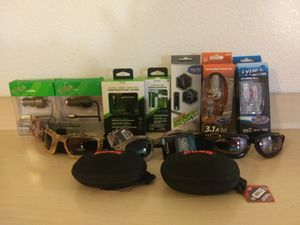 Chargers,sunglasses and headphones for Sale in MIDDLEBRG HTS, OH