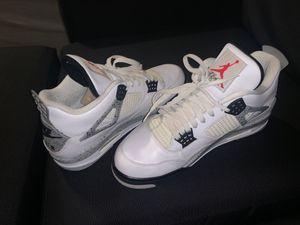 Jordan Retro 4 white Cement Size 11 for Sale in Los Angeles, CA