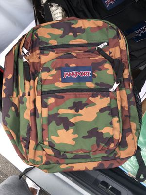 Camo jansport backpack steal brand new for Sale in Philadelphia, PA