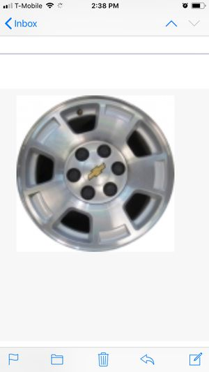 Chevy Truck Chrome Rim for Sale in Baltimore, MD
