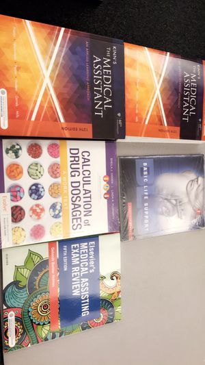 Brand New Medical Assisting Books for Sale in Cape Coral, FL