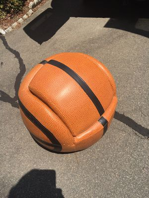 Kids basketball chair and footstool... for Sale in Durham, NC