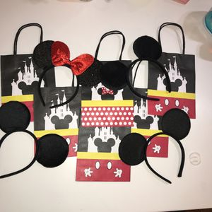 Mickey Mouse Ears and Gift Bag for Sale in Las Vegas, NV