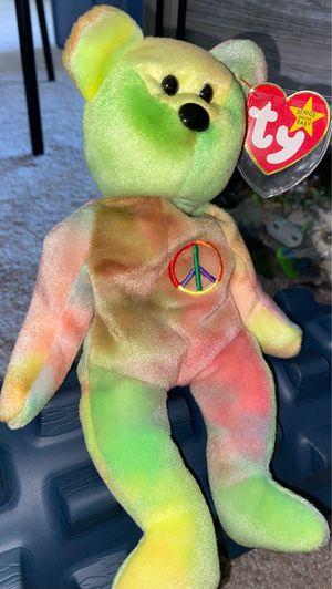 Peace - Beanie Baby (1996 PE Pellets) for Sale in Sacramento, CA