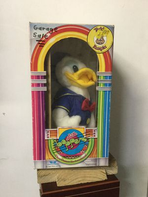 Donald Duck stuffed animal. Battery operated for Sale in Jupiter, FL