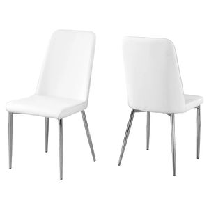 Set of 2 Retro Style Dining Chairs - White for Sale in Los Angeles, CA