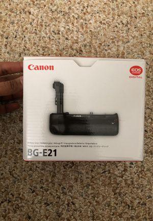 Canon BG E21 Battery grip. Brand new for Sale in Boston, MA