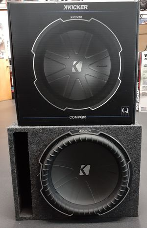 NEW! 15 in Kicker Q Series subwoofer system for Sale in West York, PA