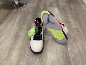 "DS AIR JORDAN RETRO 5 ""BEL AIR"" BASKETBALL SHOE SZ 12 for Sale in Irvine, CA"