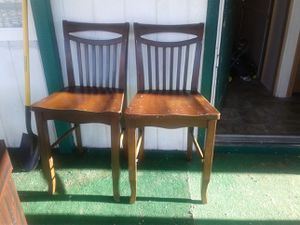 4 Tall Dinner Table Chairs for Sale in Payson, UT
