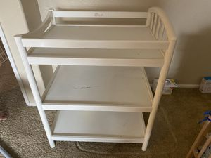 Changing table for Sale in Rancho Cucamonga, CA