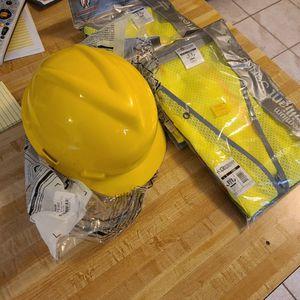 L,lx Safety Vests, Hardhat for Sale in Gaithersburg, MD