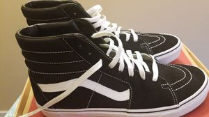 Vans black and white size 11 for Sale in Enfield, CT