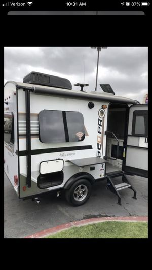 Rockwood GoPro 2 person trailer like new OBO for Sale in Highland, CA