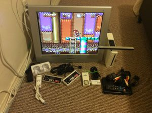 Nintendo Wii modded and television for sale for Sale in Bell, CA