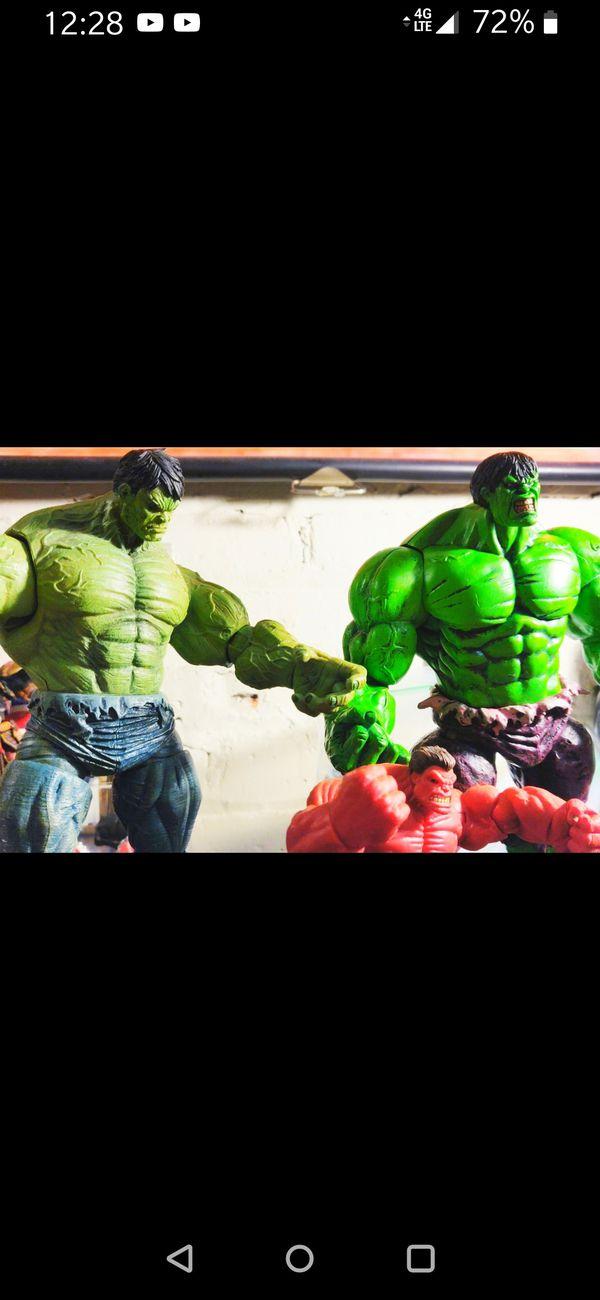 Marvel: (3) different Hulks, price varies