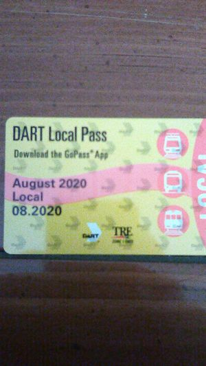 Dart August 2020 Monthly for Sale in Dallas, TX