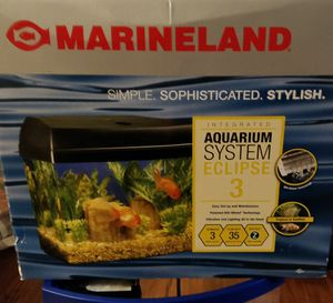 2 plastic Fish tanks for Sale in Lynnwood, WA