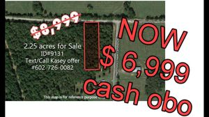 2.25 acres Vacant Land in El Paso, AR, PAYMENTS ONLY $500 DOWN! for Sale in Conway, AR