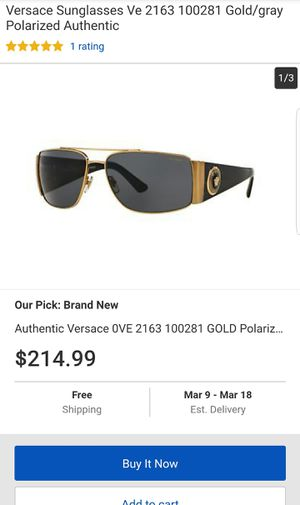 Authinic versage sunglasses for Sale in Dallas, TX