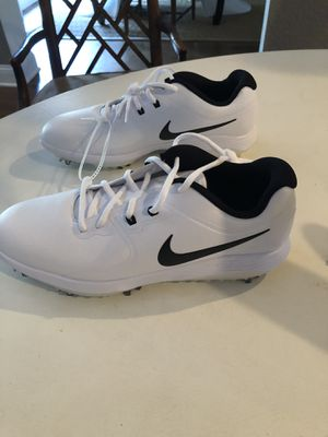 BRAND NEW Nike golf shoes with spikes! Available in size 10,11 and 8. for Sale in Orlando, FL