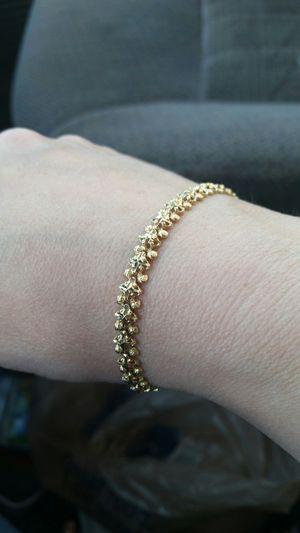 14k gold bracelet for Sale in Indianapolis, IN