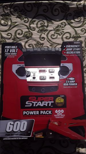 super start new in box 600amps for Sale in Monterey, CA