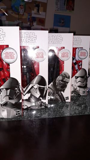 Star Wars Black Series 1st edition 90, 92, 95. 97 & 99 for Sale in Sacramento, CA