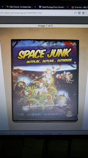 Space Junk Board Game for Sale in Falls Church, VA