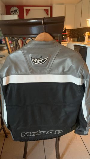 Moto Gp leather motorcycle jacket for Sale in Kissimmee, FL