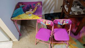 Princess Table and chair for Kids for Sale in Claymont, DE