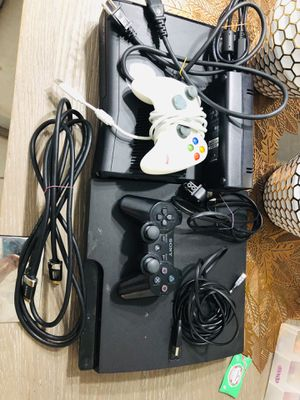 PS3 with controller and charger, Xbox 360 with plugin controller and charger, and HDMI cable for Sale in Miami, FL